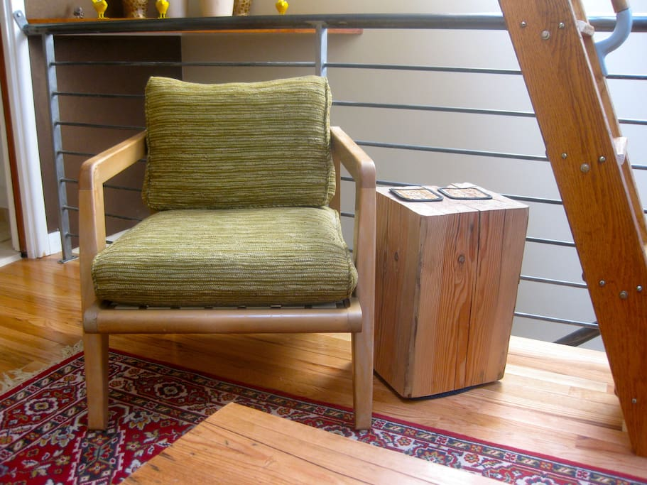 Restored Mid-century Furniture - Beautiful Details