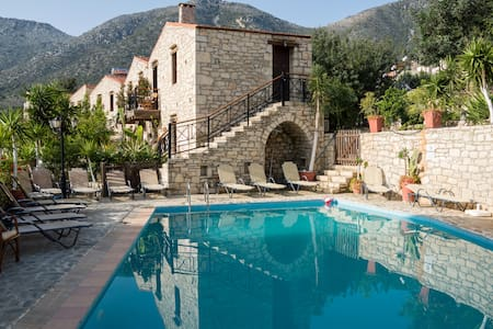 ★ TROY【Half Board】2 Bedroom*Pool*WiFi*Kitchen*Prk - Vlichada