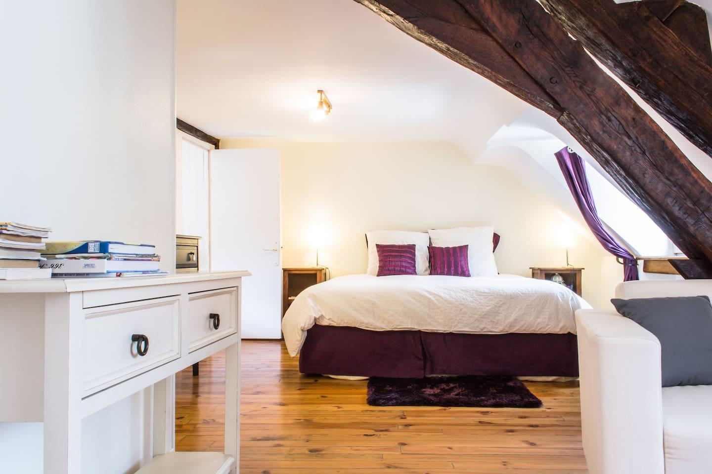 Charmante chambre La Cabotte