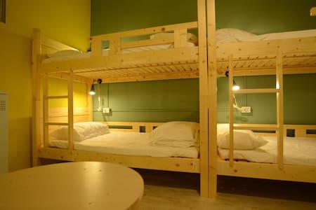 Ximen/MRT Lonshan:8 bed mixed/E