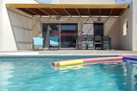Villa 4 chambres, piscine sécurisée. Provence. - Sausset-les-Pins - Haus