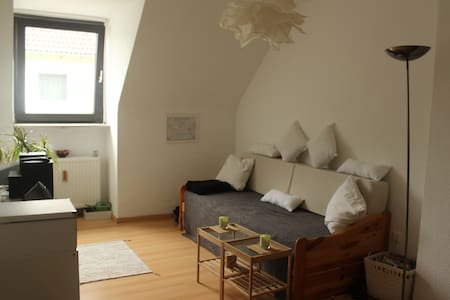 Room near city, airport and trade fare - Apartment