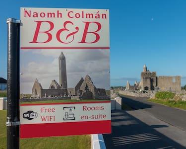 Naomh Colman B&B, Kilmacduagh 4 - Gort