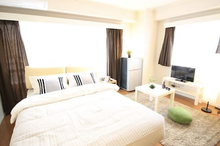 ★☆9min to Tokyo Sta. by train!!Max3ppl!FREE WIFI☆★ - Apartment
