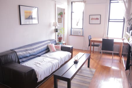 Overlooking peaceful McGolrick Park on a quiet street in Greenpoint, this apartment offers a relaxing escape from the hustle of the city, while still just an easy walk away from all the best north Brooklyn has to offer.