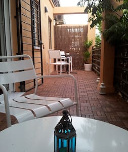Wonderful studio with sunny terrace - Lejlighed