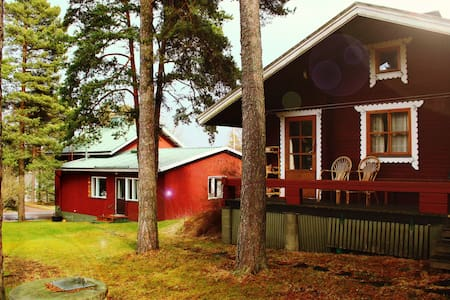 Naantalin Kapteeni: Main House and Sauna Hut - Rumah