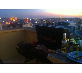 Historical view from a terrace - Beyoglu - Apartment
