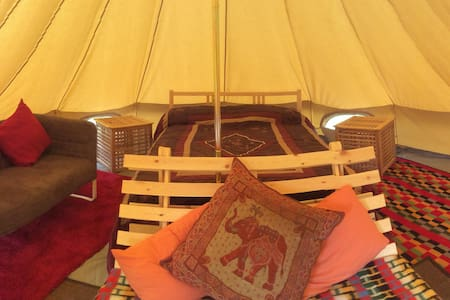 Luxury Glamping Bell Tent - English Frankton - Telt