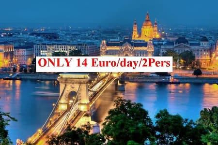 Entire flat for privat room price! - Budapest - Appartement