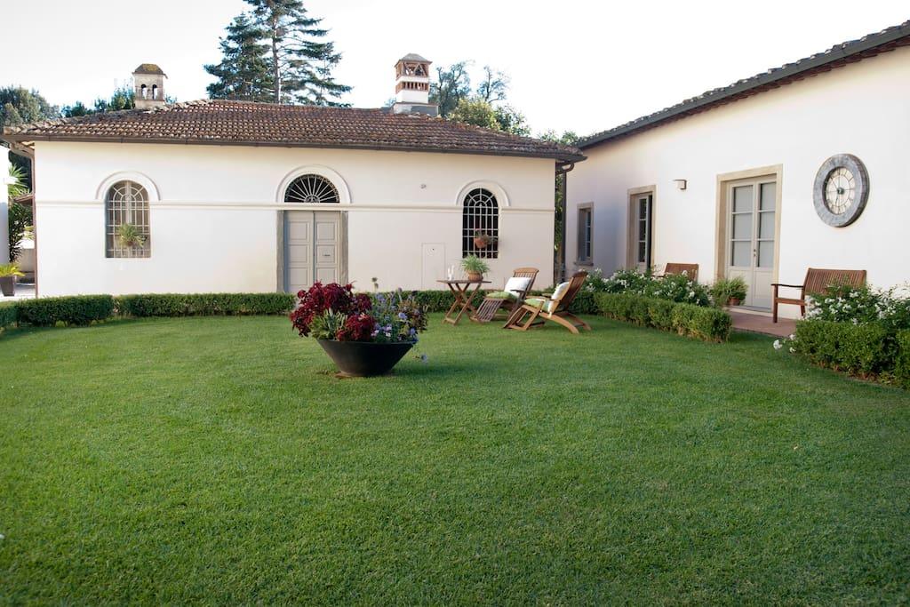 Residence con giardino