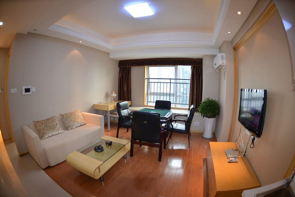 杭州滨桥湾酒店式公寓--江景套房