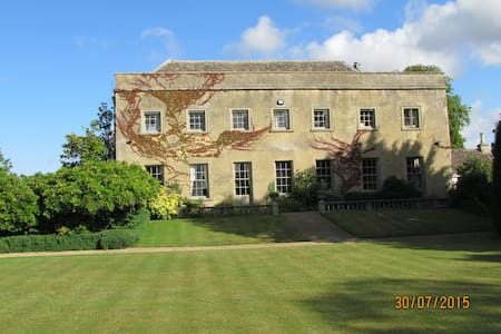 Listed Cotswold Manor 1 double rm. - Broughton Poggs - Bed & Breakfast