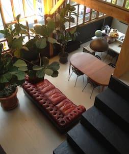 Sunny & spacy loft in a private way - Paris - Loft