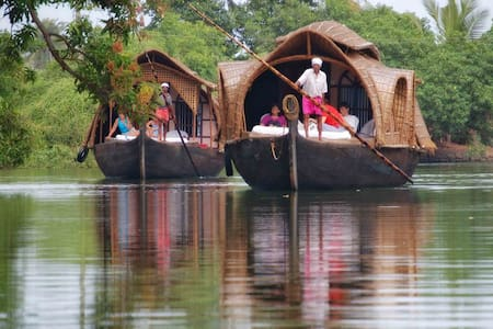 Kerala Houseboats in Alleppey  - Kanjippadam