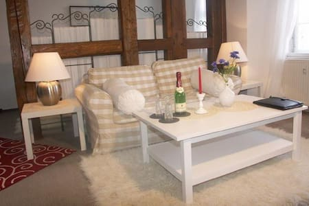 Ferienwohnung Bach-Suite Mühlhausen - Muhlhausen - Apartment