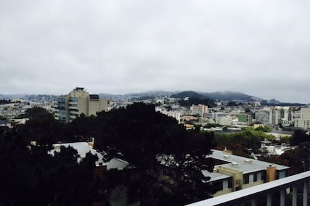 Amazing view in Lower Pac Heights
