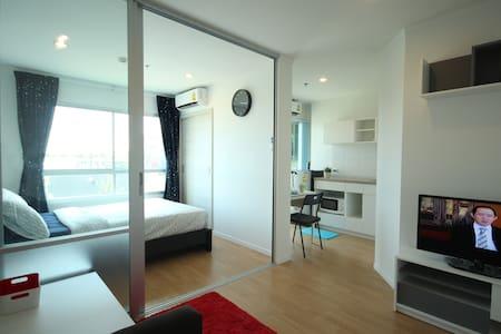1BR near Airport/Skytrain+Wifi (2) - Bangkok - Apartment