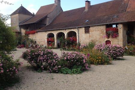 Chambre d'hôtes à la ferme - Bleue - BISSY-SOUS-UXELLES - Bed & Breakfast