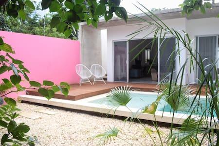 Design Tropical Stylish Home w.Pool - Tulum - House