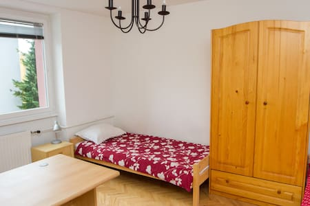 Friendly and cosy apartment near the center of Maribor,  there is also a grocery market just over the street. Walking to the center takes about 10 min.