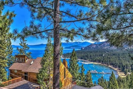 Spectacular View of Lake Tahoe from 4bdrm Retreat! - Zephyr Cove-Round Hill Village