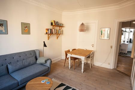Cosy apartment in central Vesterbro