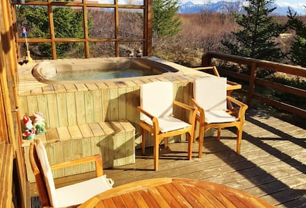 Cozy Cottage with HotTub. Wint/Sum - Kabin