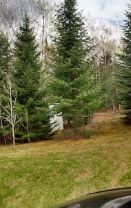 420 Friendly, North Woods hippie camping - New Sweden - Tent
