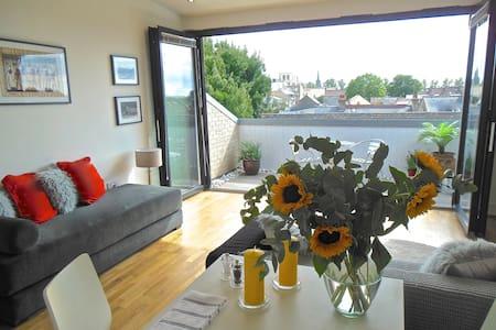 Central Cambridge Penthouse Flat - Lägenhet