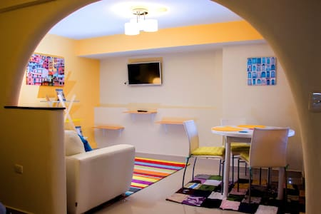 Enjoy a beautiful mini-apart located only 3 blocks away from the Main Plaza of Cusco; our mini-apart is equipped with all the facilities you need: wi-fi, Led-tv (cable tv), heating system, fully equipped kitchen  and also cleaning service