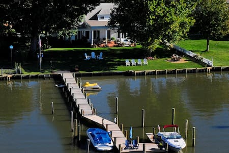 Annapolis area waterfront with dock - Shady Side - Ev