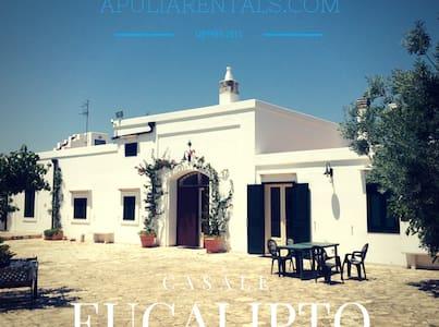 Eucalipto Farmhouse Near the Sea! - Villa