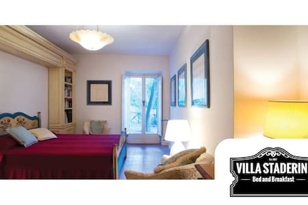 "B&B Villa Staderini   Camera ""Superior Bordeaux"" - Porto Santo Stefano - Bed & Breakfast"