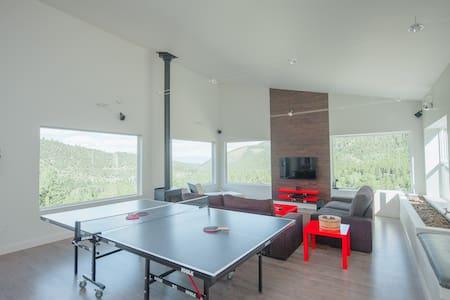 Modern and Spacious Eco Ski Estate - House