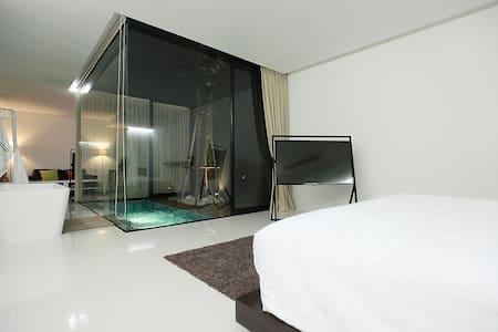 Luxurious Room @ the Qresidences - Bangkok - Apartamento