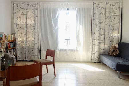 Sunny Big 25 sq.m Room in Central Ramat Gan - Apartament