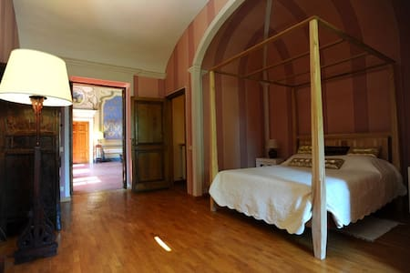 Romantic room in tuscany villa - Wohnung