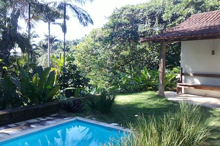 Chalet Tropical vegetation Pool