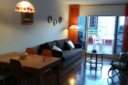 Top-floor flat. 25 min train to downtown Barcelona - Vilassar de Mar - Apartamento