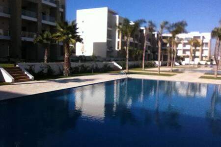 Appartement luxueux en bord de mer - Rabat prestigia plage des nations  - Apartment