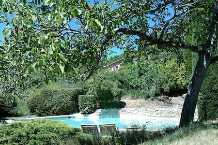 Un lieu unique face au Mont-Ventoux - Savoillans - Maison