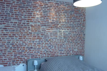 Charmante chambre indépendante - Mons - Lägenhet