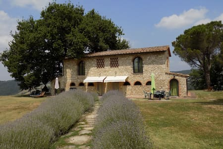 Podere Grignano, beautiful Tuscany - Haus