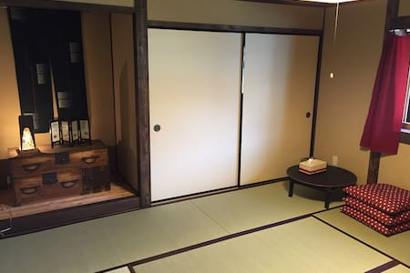 Yanagiya at castle town:private room, 8 tatami - Ena - Casa