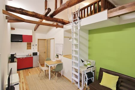 Wood House middle of Nipponbashi - Hus