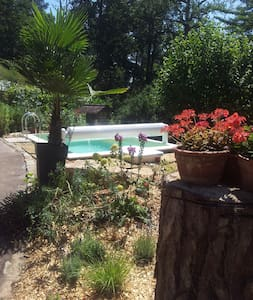 Individual tower with swimming pool - Bagneaux-sur-Loing - Other