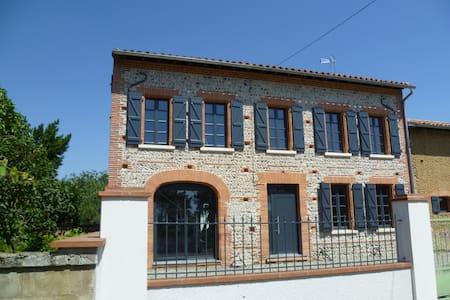 maison toulousaine de caractère - Lafitte-Vigordane