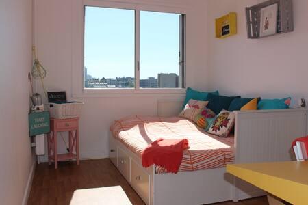 Chambre spacieuse proche Montmartre