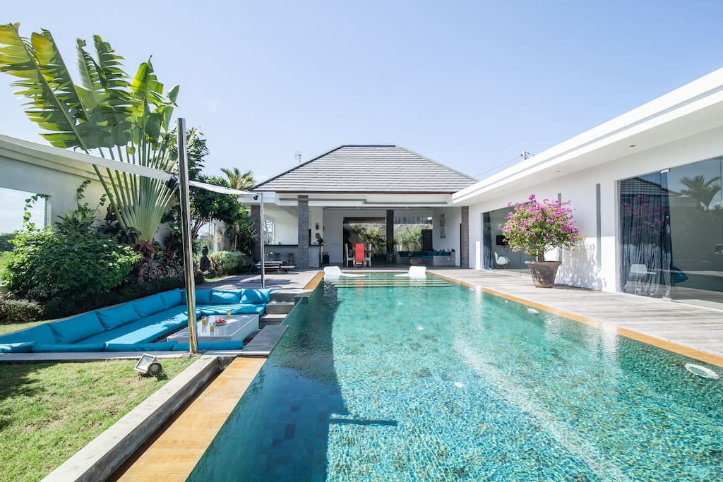 Modern Villa,Rice Field,up to 8 pax